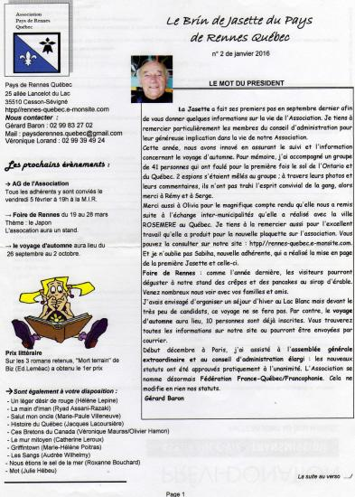 La jasette n 2 page 1